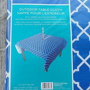 New Outdoor Table Cloth  2 packages